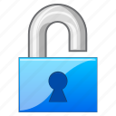 access, close, code, key, lock, locked, log in, login, open lock, padlock, password, private, protection, register, registration, registry, safe, safety, secret, secure, security, unlock icon