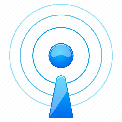 access, antenna, blog, communication, connect, connection, feed, internet, mobile, news, online, podcast, radio, rss, signal, social, transmission, wifi, wireless icon