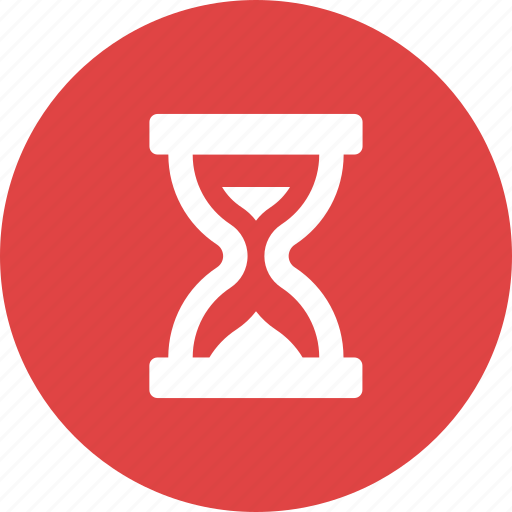 clock, hour, hourglass, sand, time, timer, waiting icon