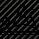 31e, equal, f, level, planar, planlush, uniform icon