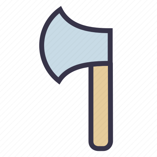 axe, battle, chop, hatchet, tool, weapon, wood icon
