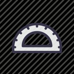 angle, compass, drawing, geometry, mathematics, measure, tool icon