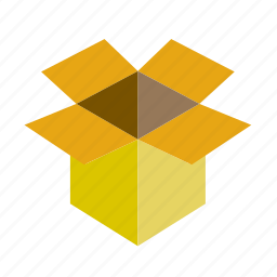 box, cardboard, carton, home, improvement, move, package icon