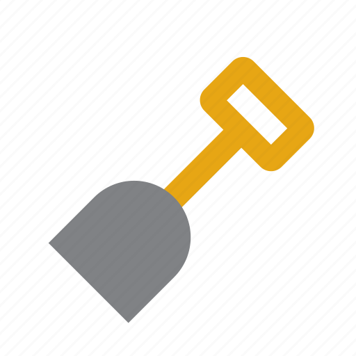 Diy, home, implement, improvement, shovel, tool, tools icon - Download on Iconfinder