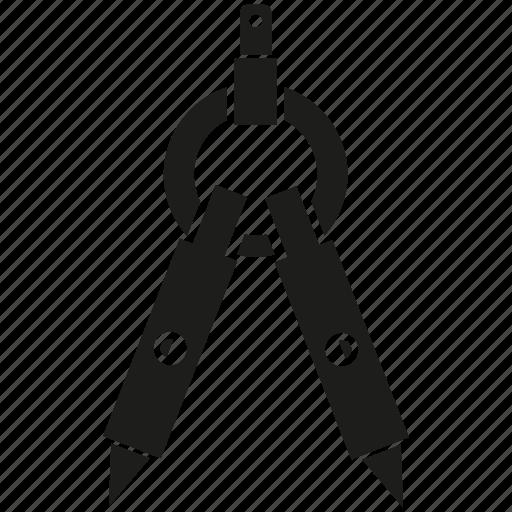 compass, divider icon