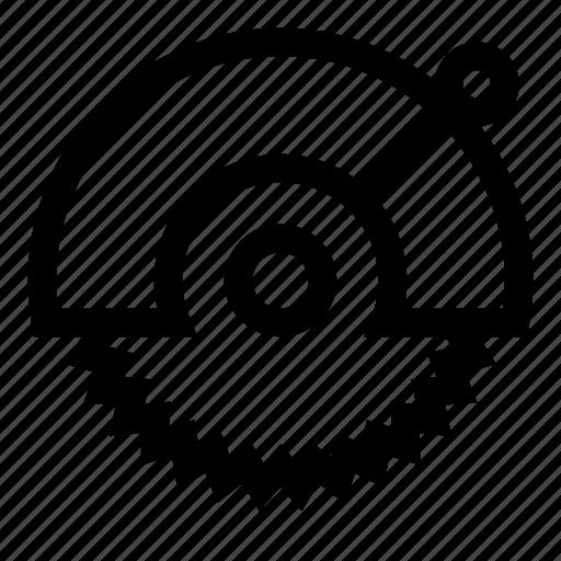 circular, saw, sawing, tool, tools icon