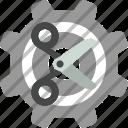 cut, cutter, scissor, scissors icon