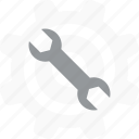 repair, settings, tools, wrench icon