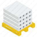 brick stone, cement blocks, cement stone, concrete block, concrete stone icon
