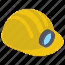 engineer cap, hat, head protection, headgear, headwear icon