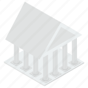 architecture, bank, bank building, commercial building, museum icon