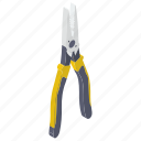 repairing tool, service tool, plier, pincer, maintenance tool, hand tool icon