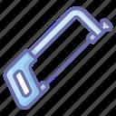 carpenter tool, hand tool, saw, saw tool, wood saw icon