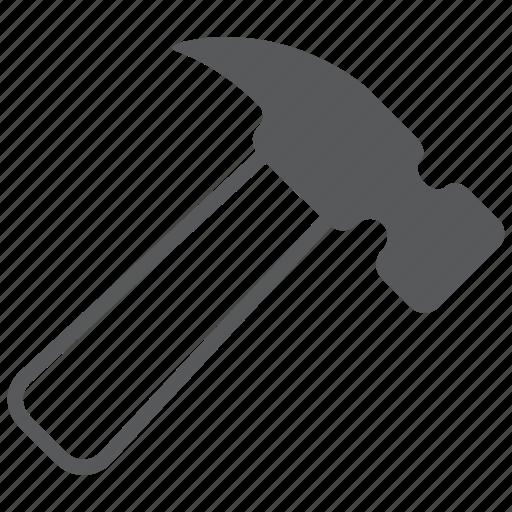 build, equipment, hammer, nail, repair, screw, tools icon
