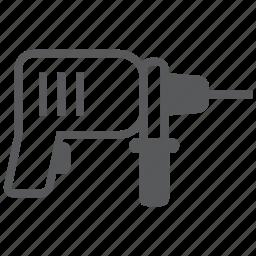 build, construction, drill, drilling, equipment, fix, repair icon