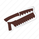 agriculture, construction, saw, tool, tools, work, working icon