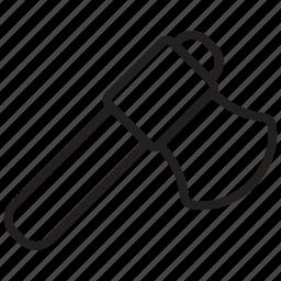 ax, axe, axes, chop, equipment, repair, tool icon