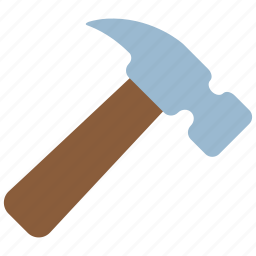 build, equipment, fix, hammer, nail, repair, tools icon
