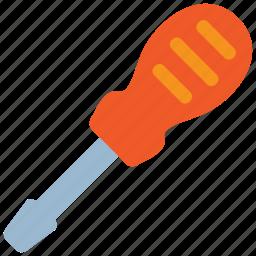 build, equipment, nail, repair, screw, screwdriver, tool icon
