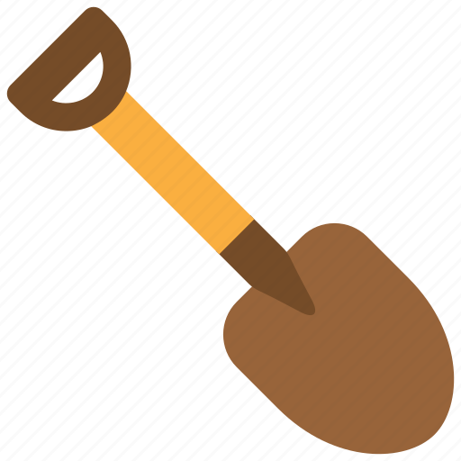 build, construction, dig, digger, equipment, shovel, tool icon