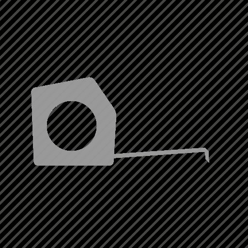 measure, measuring, tape, tapemeasure icon