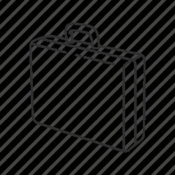 briefcase, business bag, case, hand bag icon