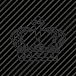 crown, king, king crown, monarchy icon