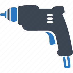 drill, drill hand tool, tool icon