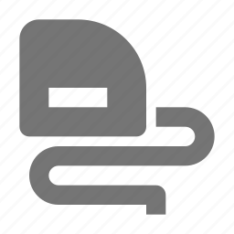 measuring, measuring tape icon