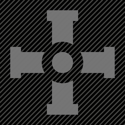 brace, cogwheel, wheel icon