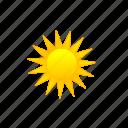 daytime, full sun, sun, sunny, sunshine icon