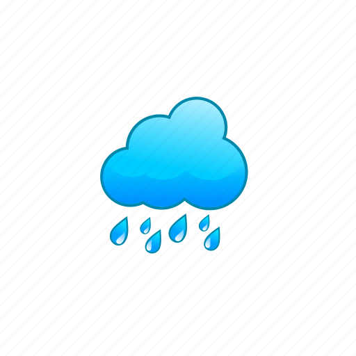 cloudy, heavy, rain, raincloud, rainy, showers, weather icon