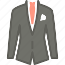 apparel, business, clothes, top icon
