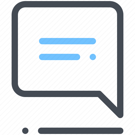 chat, comments, communication, forum icon