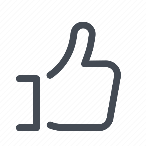 feedback, like, review icon