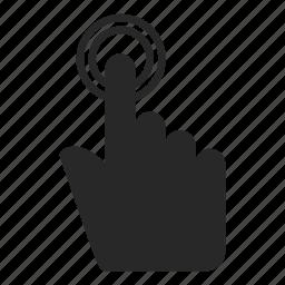 arrow, finger, finger gesture, gesture, hand, hand gesture, touch, touch gesture icon