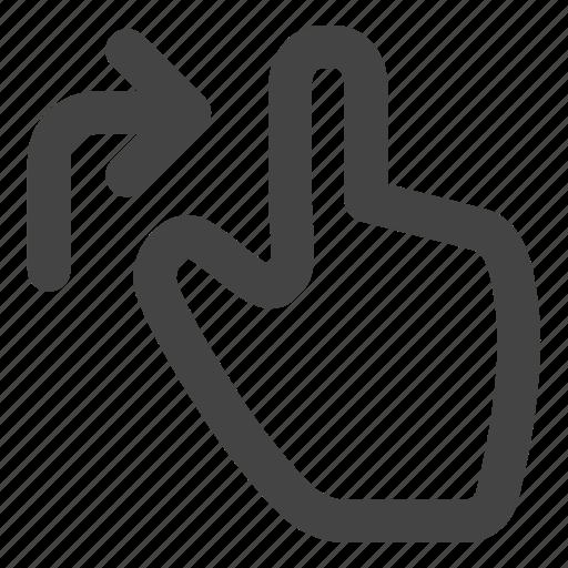 display, drag, finder, gesture, gestures, hand, touch icon