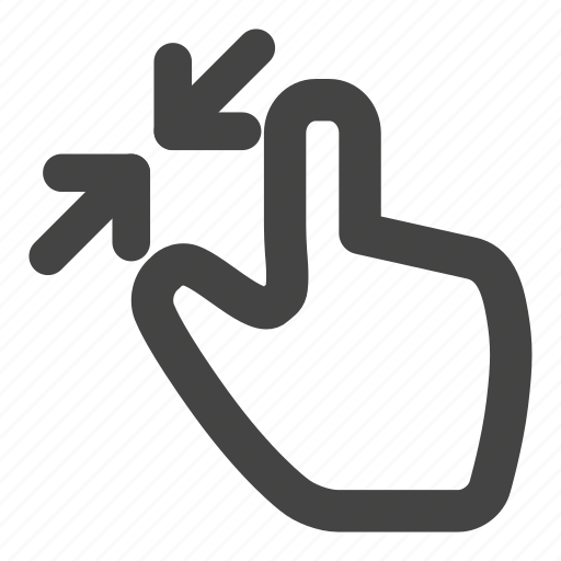 finger, gesture, gestures, hand, scale, tap, touch icon