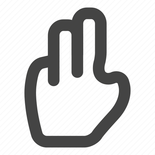finger, fingers, gesture, gestures, hand, swipe, touch icon