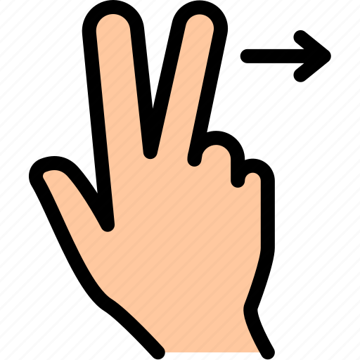 drag, finger, hand, rotate, tap, zoom icon