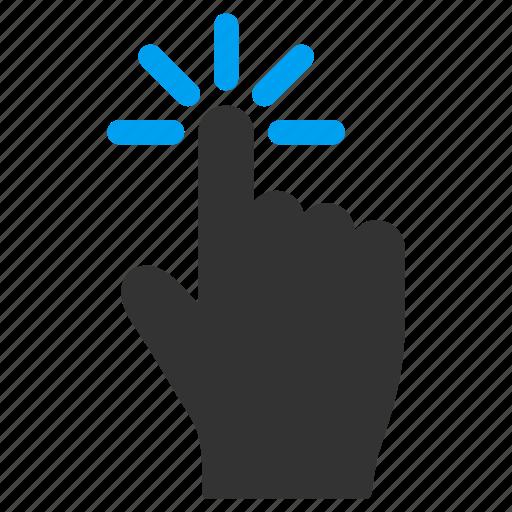 Finger click icon