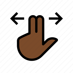 gesture, scroll, swipe, touch icon