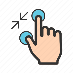 blur, glass, lens, mouse, out, tool, zoom icon
