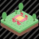 garden, lawn, outdoor, park, patio furniture icon