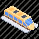 local transport, railway station, railway track, railway vehicle, train, transport icon