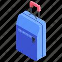 backpack, baggage, luggage, suitcase, traveling bag icon