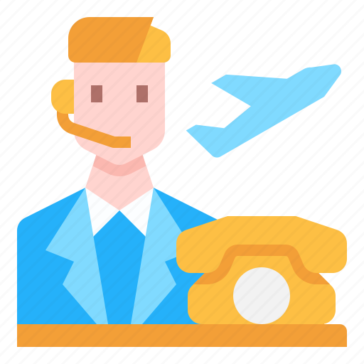 Avatar, call, center, customer, man, service icon - Download on Iconfinder