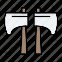 axe, chop, lumberjack, tool