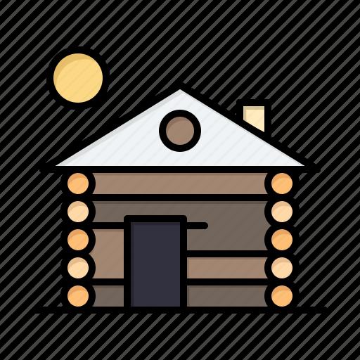 building, home, hotel, service icon