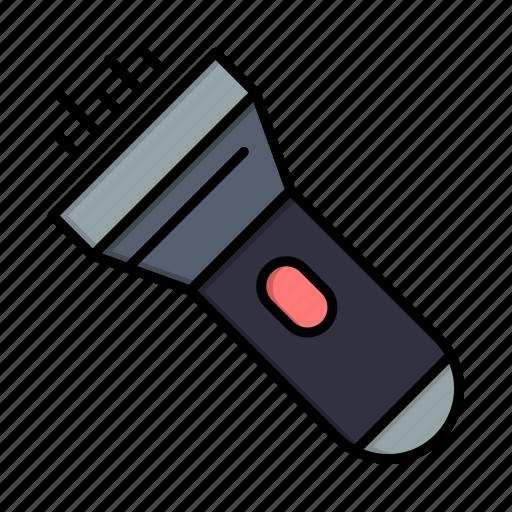 flashlight, light, torchflash icon